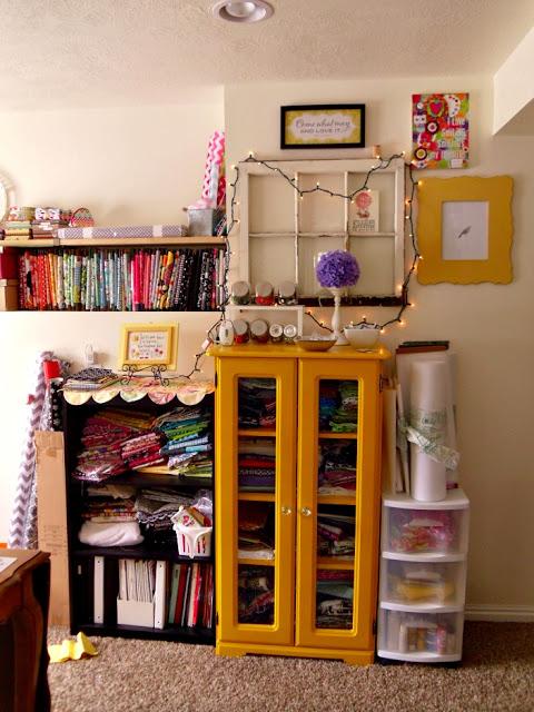 organize- craft room