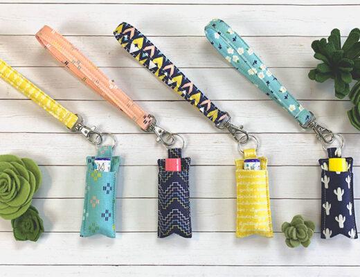 Chapstick Holder Keychain are helpful