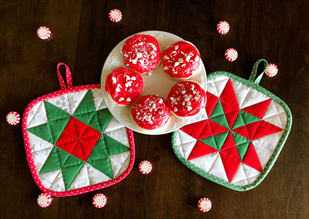 Holiday Hot Pad Gift Set Ameroonie Designs
