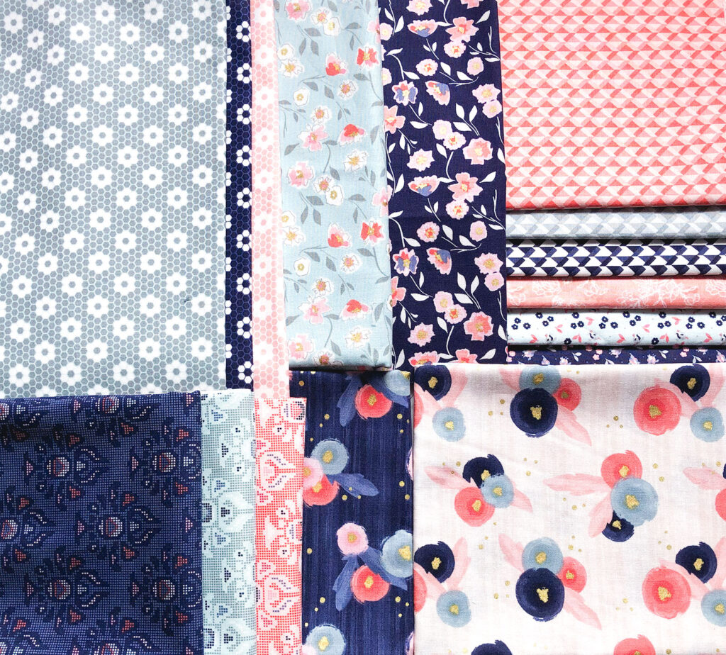 Midnight Rose Fabric collection