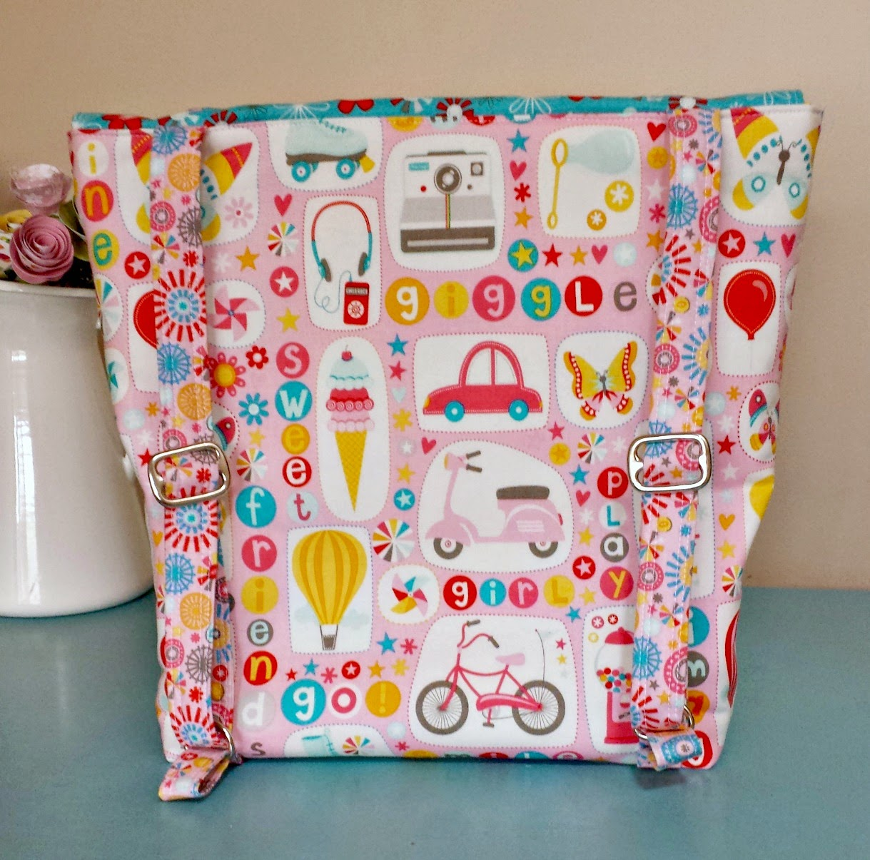 DIY Toddler Backpack Tutorial featured by top US sewing blog, Ameroonie Designs