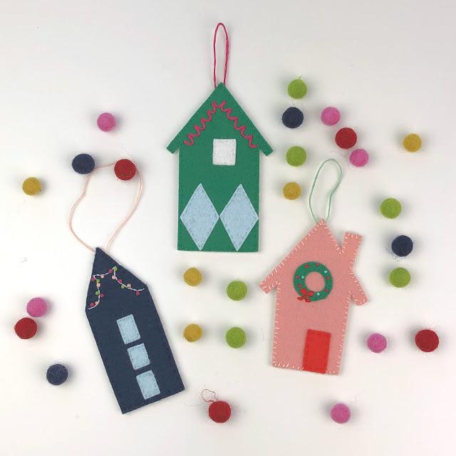 Use your Cricut Maker to make felt ornaments