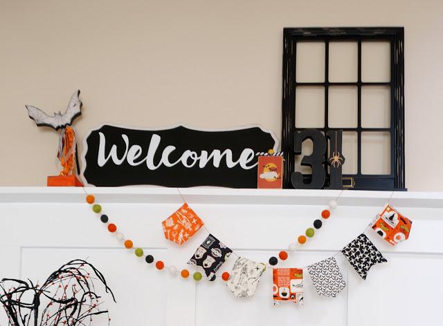 sew mini bunting for seasonal decor
