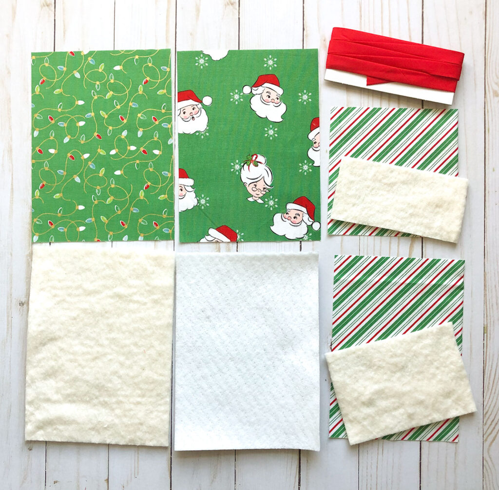 How to Sew a Hot Pad with Pockets by top US sewing blog Ameroonie Designs. Image of: cutting requirements for hot pads
